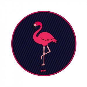 Silicon Coaster-Flamingo
