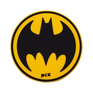 Silicon Coaster-Bat Man