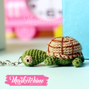 Keychain Turtile
