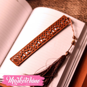 Leather Bookmark-Ornamented