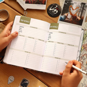Notebook Adventure-Ticket to Anywhere