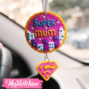 Car Charm-Supper Mum