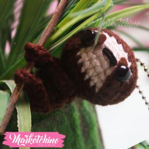 KeyChain-Sloth bear