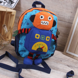 Kids Bag-Robot-Orange
