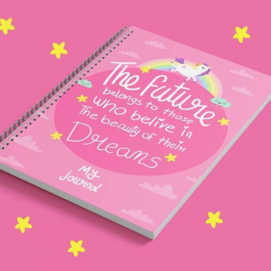 My Journal-For Girls-Pink