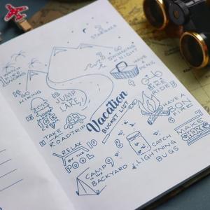Printed Mug-Supermom-Blue
