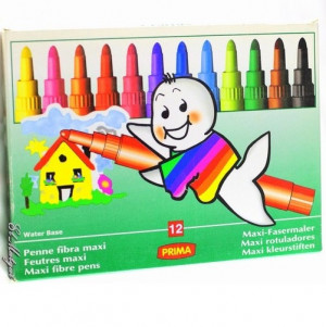 Prima Coloring Pens Set Of 12-1
