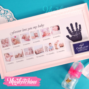 Photo Frame-Baby-Pink