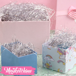 Gift Box-Decoration-Silver