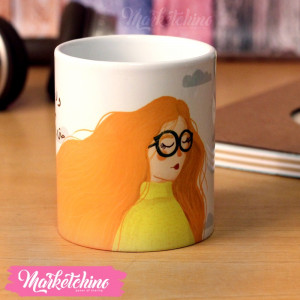 Printed Mug- Red Head