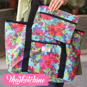 Hand Bag-Flower-Colorful 2
