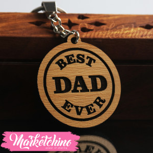 KeyChain-Best Dad
