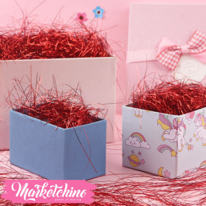 Gift Box-Decoration-Maroon