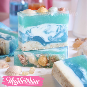 Hand Made Soap-Sea Shells