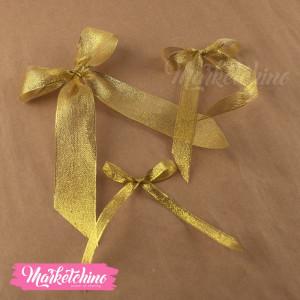 Ribbon-Gift Box-Gold (one piece )