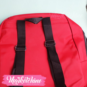 Backpack-Love-Red
