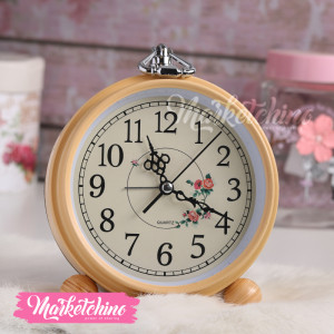 Wall Clock-Beige