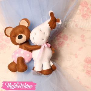 Curtain Tie Back-Bear