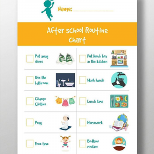 After School Routine-English