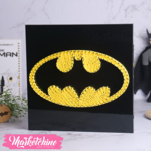 String Art-Tableau-BatMan