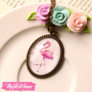 Necklace-Flamingo