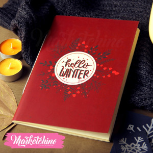 Sketch Book Hello Winter-Large
