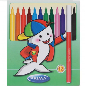 Prima Coloring Pens Set Of 12
