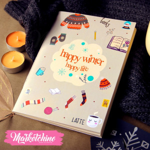 Sketch Book Happy Winter-Large