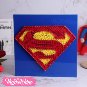 String Art-Tableau-SuperMan