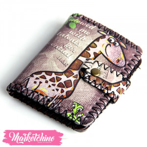 Wallet Giraffe-Small