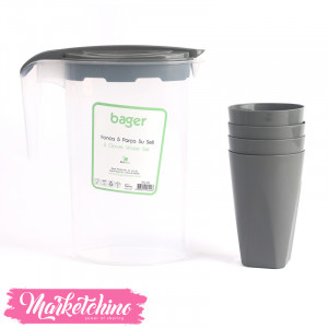 Bager Water Set-Gray( 5 pieces )