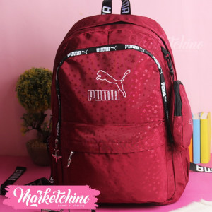 Backpack-Puma-Maroon