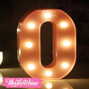 Decorative Letter O-Pink
