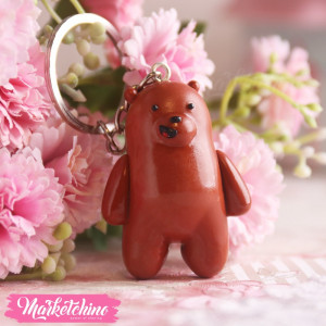 Keychain-We Bare Bears-Grizz