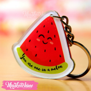 keychian(you are one melon)