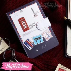 NoteBook-England Telephone-Small