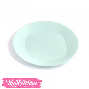 Bager Plastic Service Plate-Baby Blue (Large)