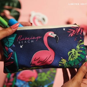 Pencil case Flamingo