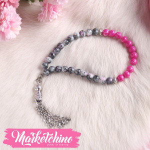 Misbaha-Gray&Pink