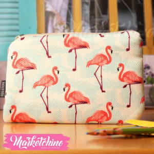 Make Up Bag-Flamingo