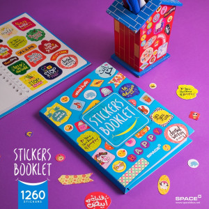 Stickers Booklet-1 large