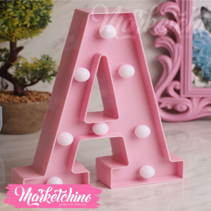Decorative Letter A-Pink