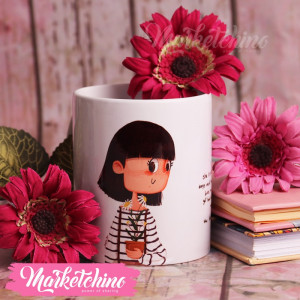 Printed Mug-She Is Strong