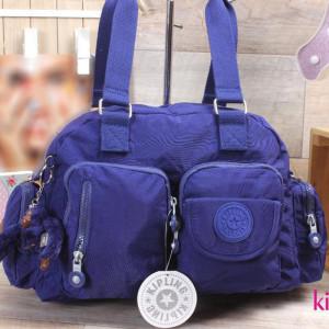 Hand Bag-kipling-purple