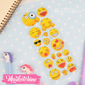 Stickers-Smile Face 3