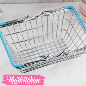 Stainless steel Basket-Blue