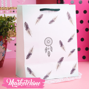 Gift Bag-Feathers