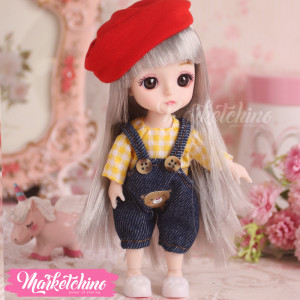 Doll-Yellow Shirt (17 cm)