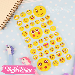 Stickers-Smile Face 6