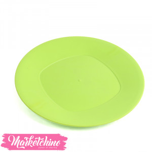Bager Plastic Service Plate -Green(Large)